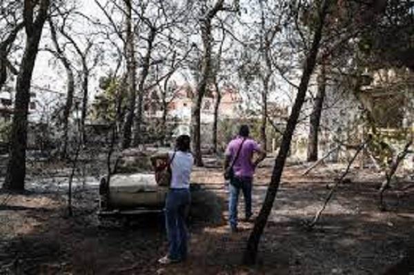 Σύσκεψη αύριο για μέτρα στήριξης στους πληγέντες της πυρκαγιάς