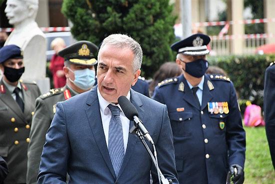 """Στ. Καλαφάτης από Εδεσσα: """"Οι Μακεδόνες στέλνουμε σήμερα μήνυμα ενότητας και αποφασιστικότητας...."""" (ΦΩΤΟ) image."""