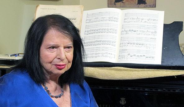 """Η πιανίστρια Ντόρα Μπακοπούλου στον νέο κύκλο της εκπομπής """"Μονόγραμμα"""""""